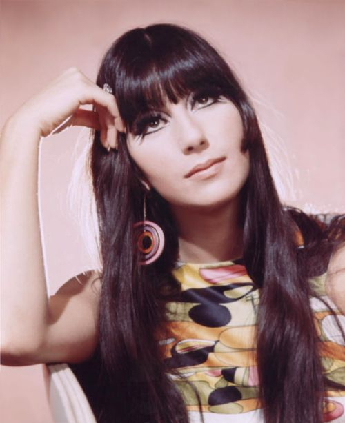 Cher-Love this one! she was so young..