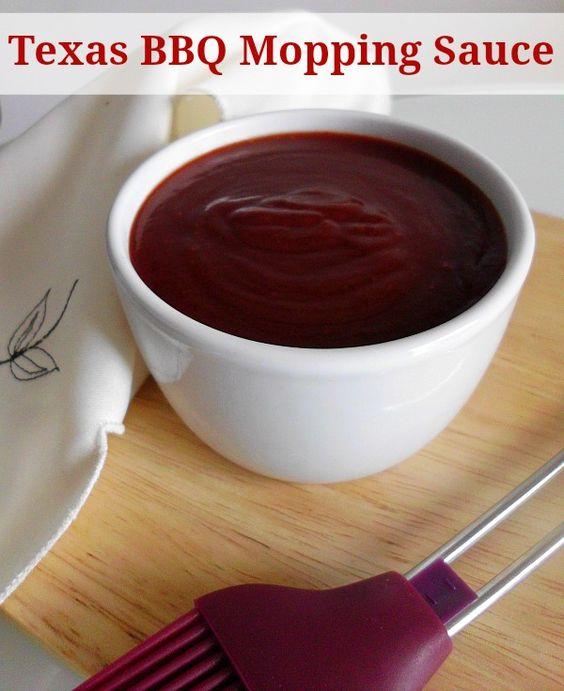 Texas BBQ Mopping Sauce | www.pinkrecipebox.com