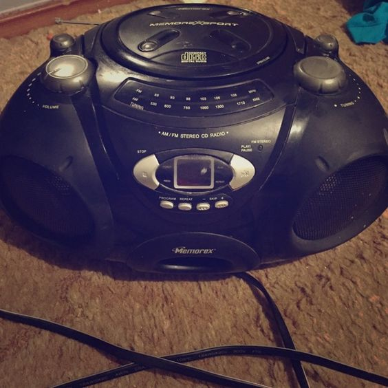 Radio A Memorex Radio. Has been used, but still in great condition and works! Other
