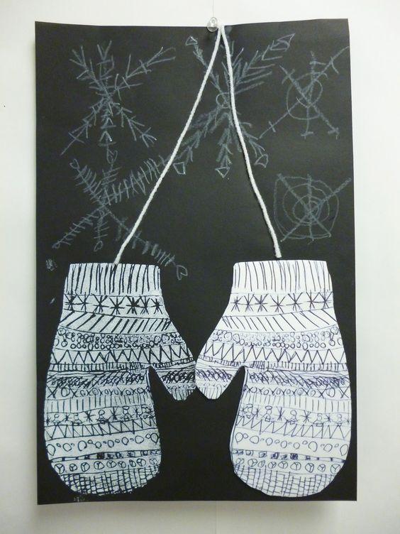 Artistic Freedom: Printing... Mittens.... Snowflake Bentley!!!!