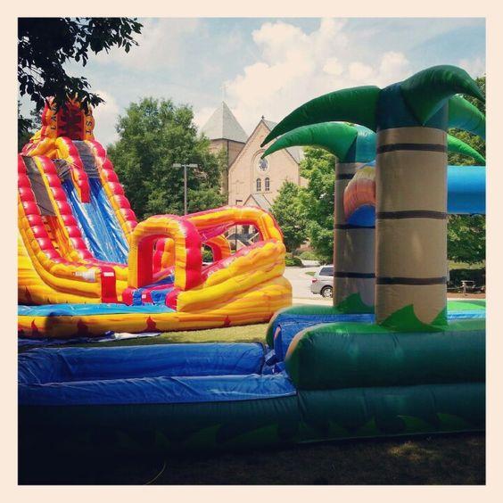 Inflatable Slide Rental Atlanta: Pinterest • The World's Catalog Of Ideas