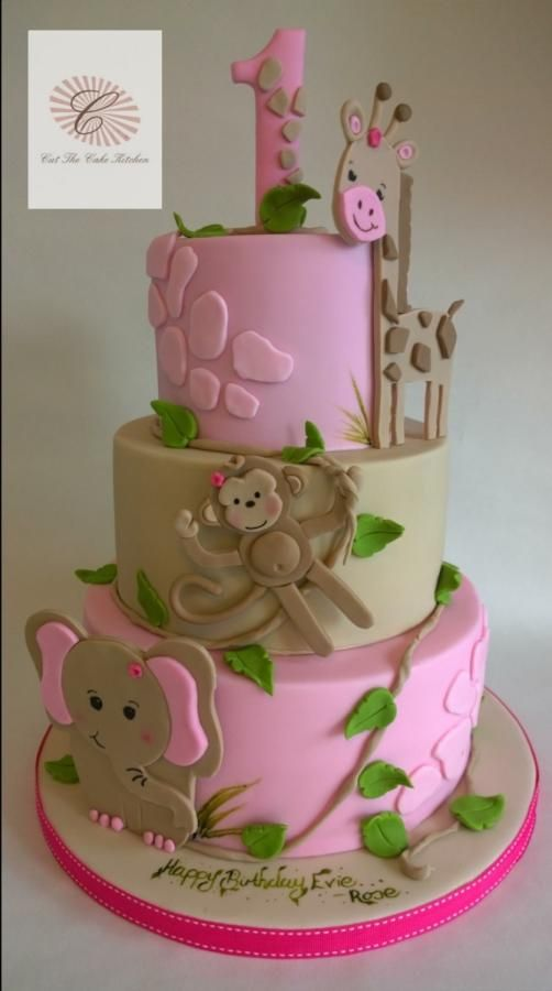Jungle wishes - Cake by Cut The Cake Kitchen:
