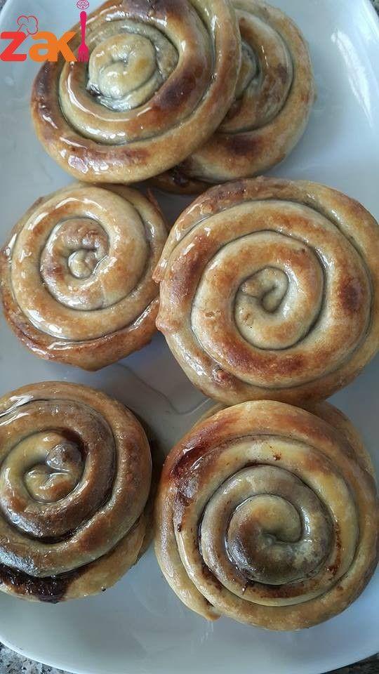 طريقة عمل مطبق الجوز الفلسطيني احفظوا الطريقة فخمة جدا زاكي Food Arabic Sweets Desserts