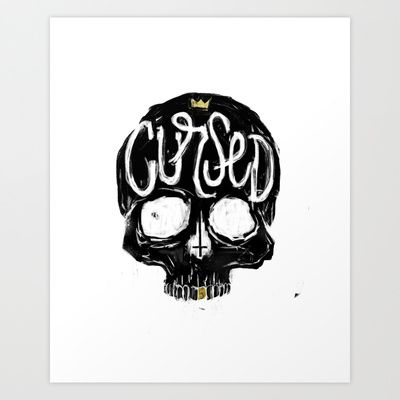 Cursed Art Print by Matt Smiroldo - $15.00