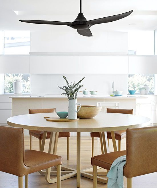 Yay Or Nay Ceiling Fan Over The Dining Table Black