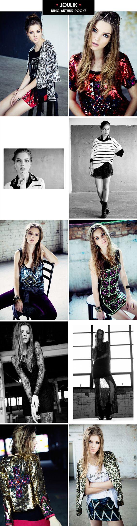 Achados da Bia | Moda | Lançamento Inverno 2013 | Joulik | King Arthur - http://www.achadosdabia.com.br