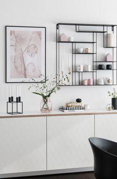 Neue Fronten Eine Neue Platte Fur Mein Ikea Besta Sideboard Ikea Vardagsrum Inredning Matsal Dekorera