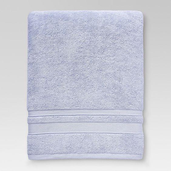 Performance Bath Towel Aqua Threshold Bath Sheets Comforters