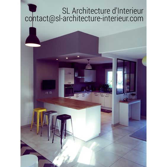 #amenagement #cuisine #kitchen #design #decoration #architectureinterieure #designinterior #www.sl-architecture-interieur.com