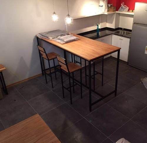 Resultado de imagen para mesas altas de madera   Mesas de ...