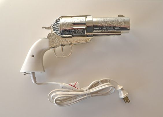 Shoot your hair dry with this 357 Magnum  hair dryer.