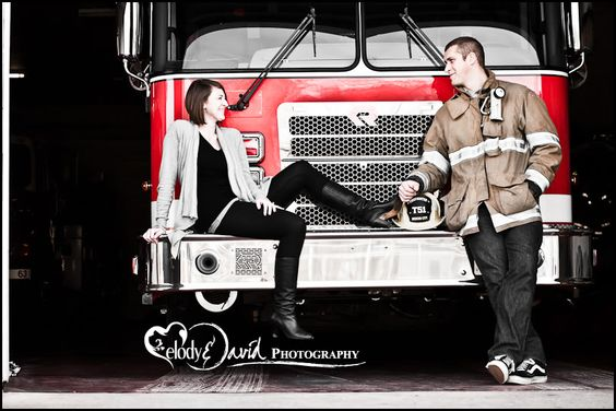 Turlock Wedding Photography Fire Department