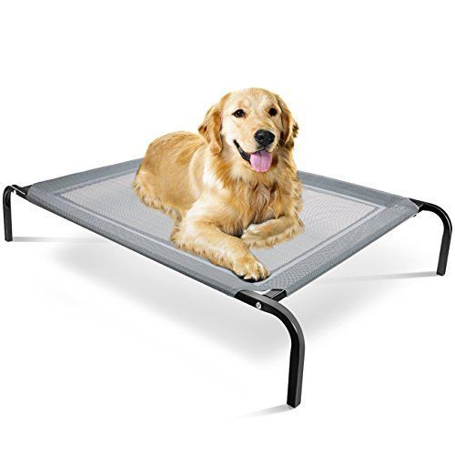 Oxgord Travel Gear Approved Steel Framed Portable Elevated Pet Bed Cat Dog 43 5 By 29 5 Black Elevated Dog Bed Dog Bed Pet Beds Cat