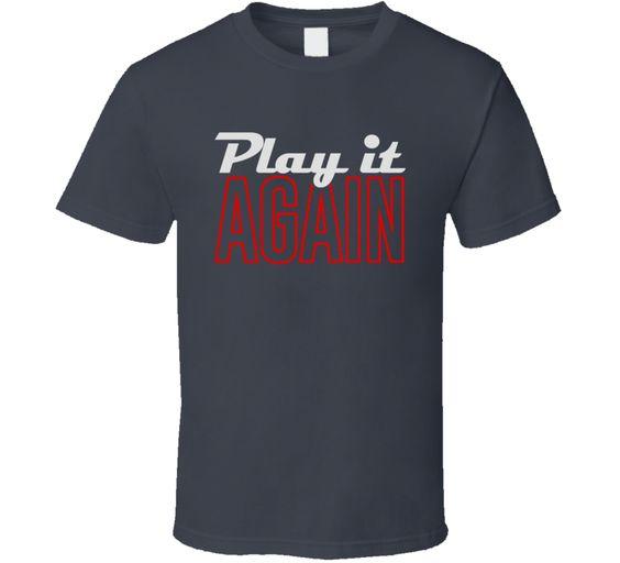 Play It Again Luke Bryan Favorite Song Title Concert Fan T Shirt