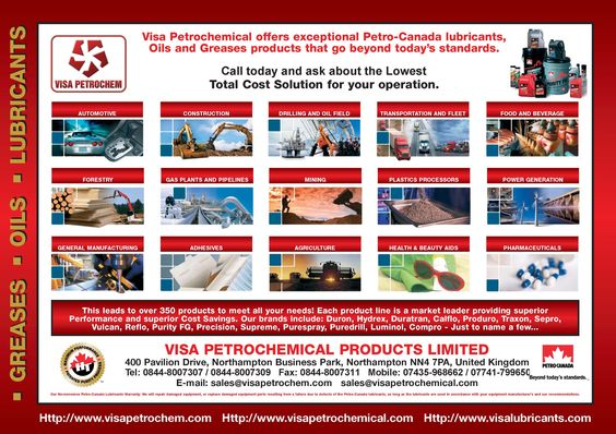Visa Petrochemical Products Limited (visapetrochem) on Pinterest