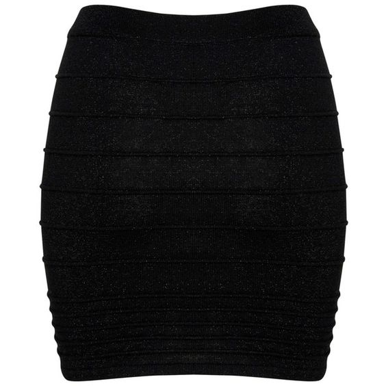 A|Wear Black Jazz Tube Skirt (14 AUD) ❤ liked on Polyvore ...