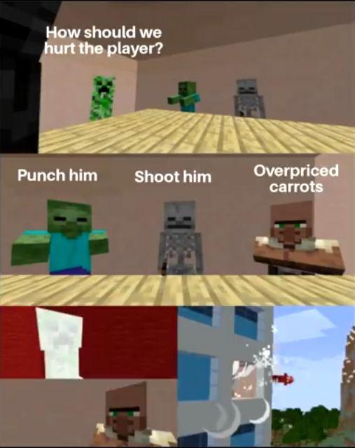 Funny Minecraft Memes Minecraft Memes Memes Funny Fails