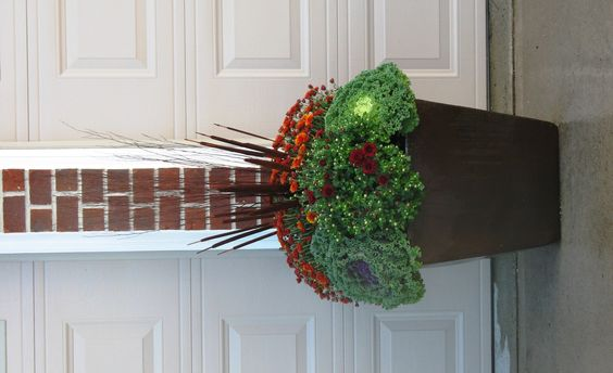 {autumn container}   By Ooh La La Designs ~ Fonthill, ON