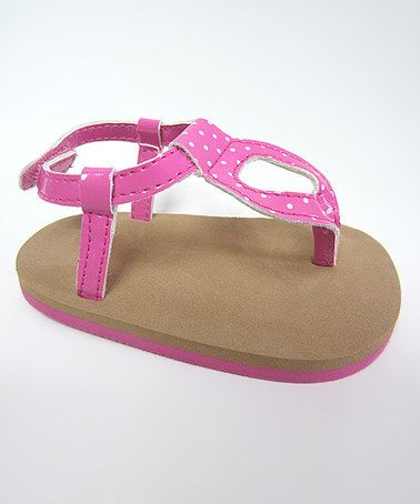 Love this Tan & Pink Wee Kids Sandal on #zulily! #zulilyfinds