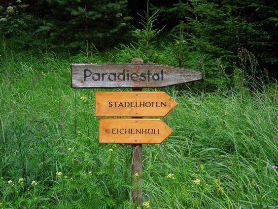 Das Paradiestal im östlichen Landkreis Bamberg - ein ruhiges Tal mit hohen Wiesen und bizarren Felsformationen.