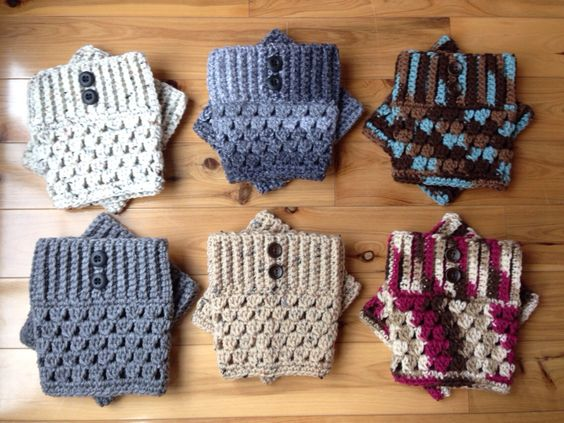 Boot Cuffs With Buttons - Many Colors Available! by GrindleHillFineGoods on Etsy