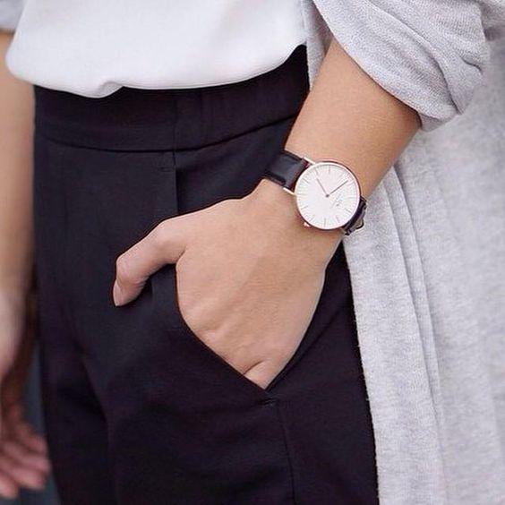 身に着けるだけでお洒落になれる♡ダニエル ウェリントン腕時計♡の12枚目の写真
