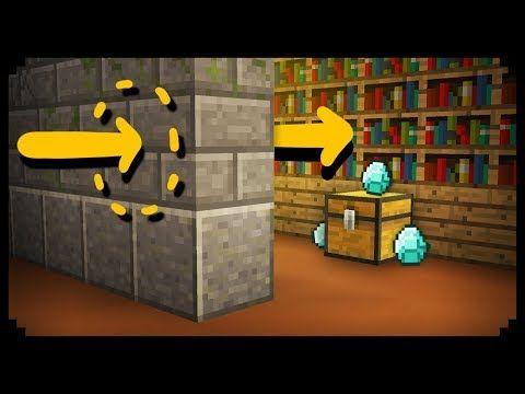 Minecraft How To Walk Through Walls Youtube Minecraft Designs Minecraft Crafts Amazing Minecraft
