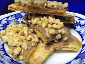 Toffee Bars (Or Nut Bars) Recipe from Cooklime