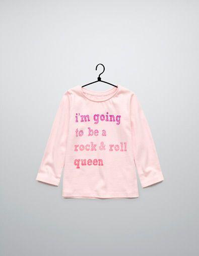 text t-shirt - T-shirts - Baby girl (3-36 months) - Kids - ZARA United States