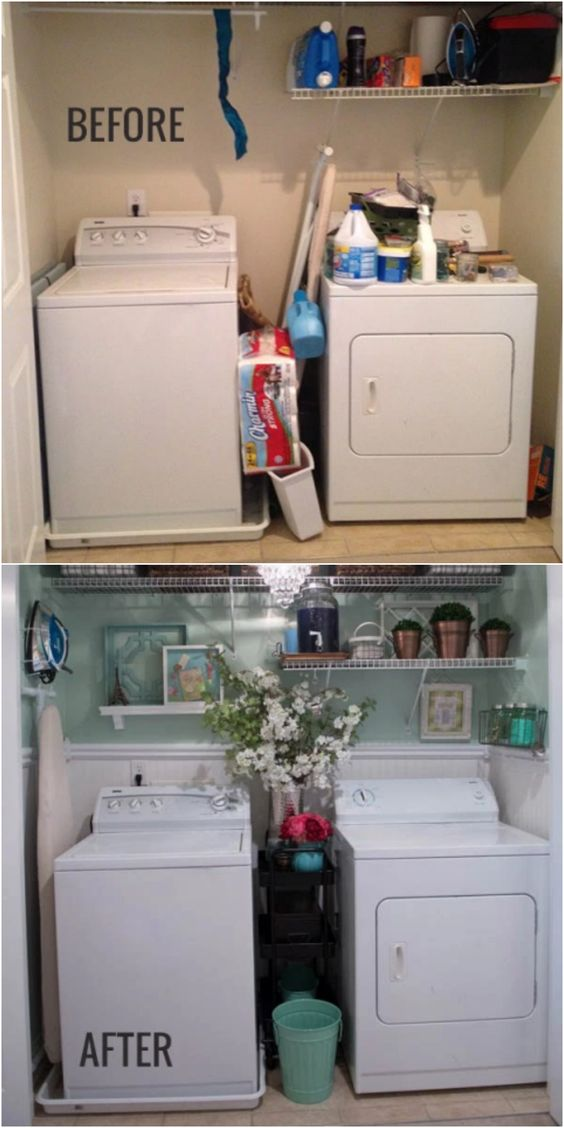 25 Absolutely Gorgeous Home Organizing Before And Afters
