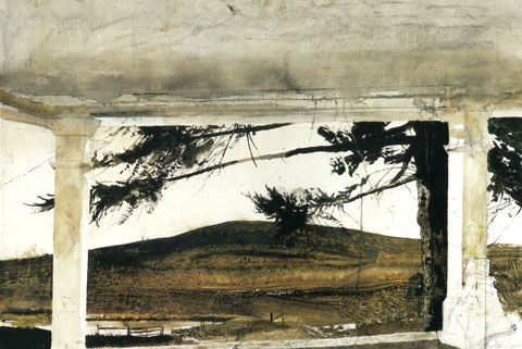 002 Andrew Wyeth and John Updike Convergences Dan