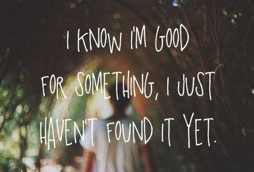 hopefully someday