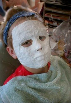 Diy and crafts paint and masks on pinterest for Plaster crafts to paint