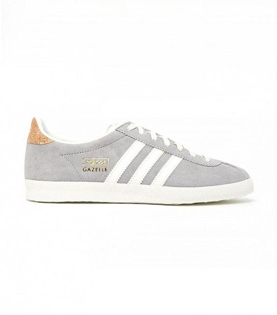 Adidas Originals Gazelle Og Solid Grey Trainers