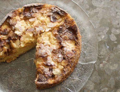 Mandel-Pfirsich Kuchen