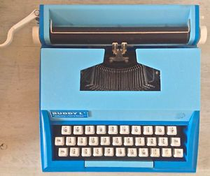 Vintage 1978 Jouet Machine à écrire Buddy L Easy-Writer Japon