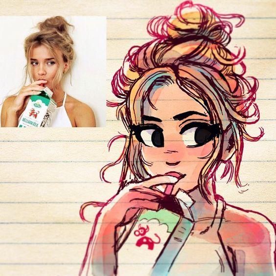 Character Design Instagram : Regardez cette photo instagram de toonimated draws