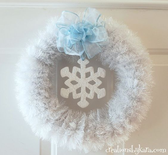 white-wreath, diy-wreath-tutorial