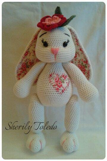 PATTERN Baby Bunny Blossom Crochet Amigurumi by ToledosTalents