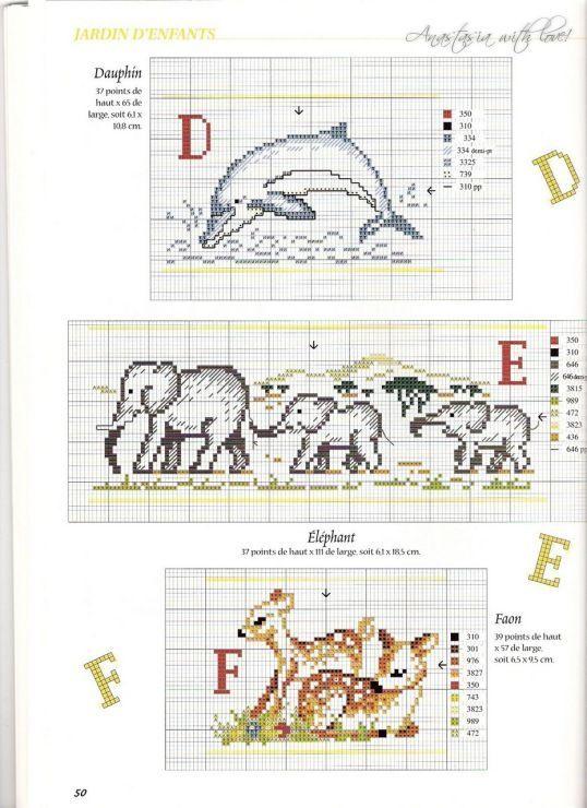 Dolfijn olifanten hertjes