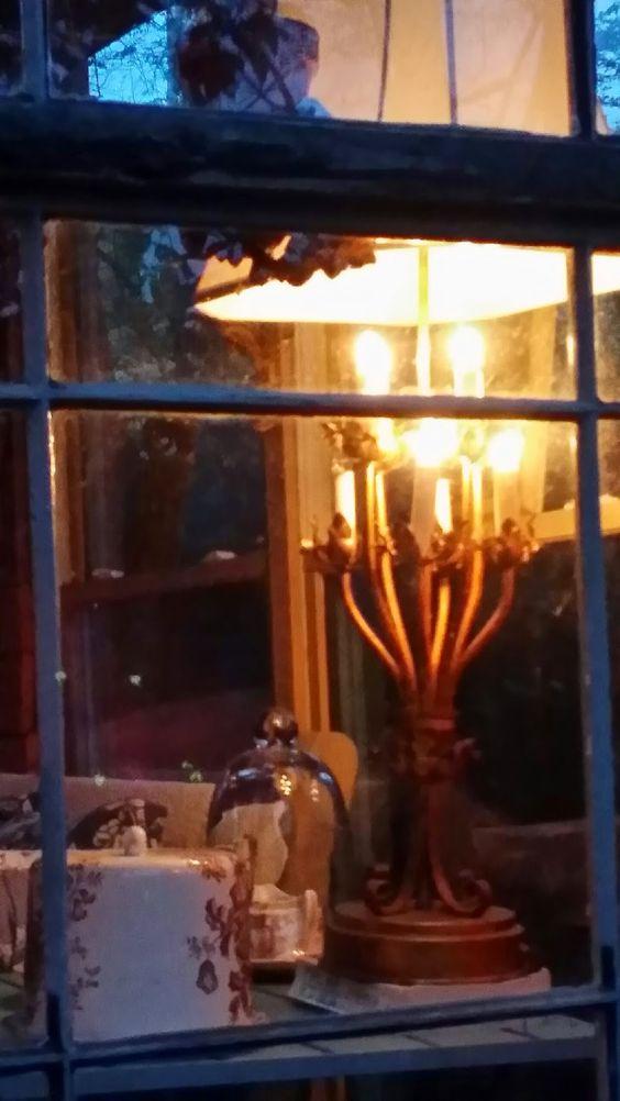 TARA DILLARD: Conservatory in the Gloaming: