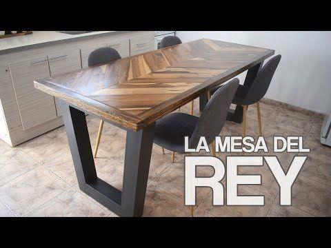 356) MESA ESTILO INDUSTRIAL By Easy. PROYECTO MUEBLE (La