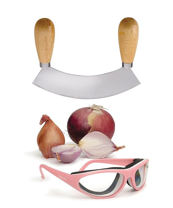 Onion Cutting Set | I wonder if this works. I cry every time I cut  onions