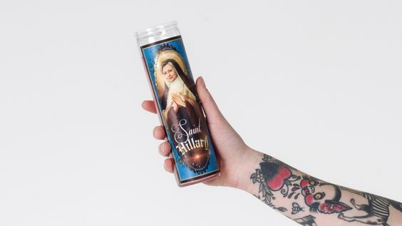 Kitschup Creations Bernie Sanders Hillary Clinton Candles | Wildfang - 4