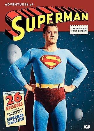 Warner The Adventures of Superman: The Complete 1st Season