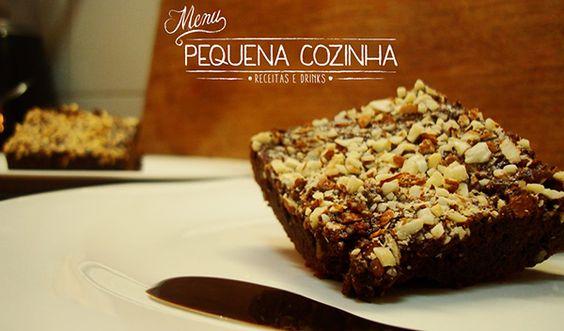 Receita: Brownie de Chocolate com Castanhas