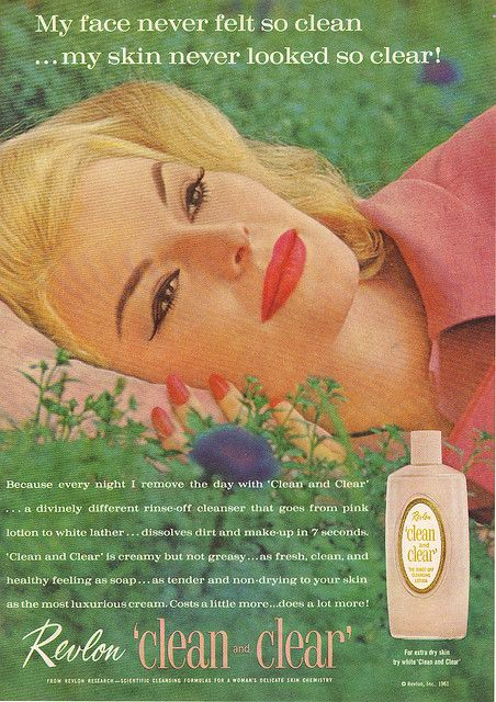 Revlon Clean And Clear c 1961