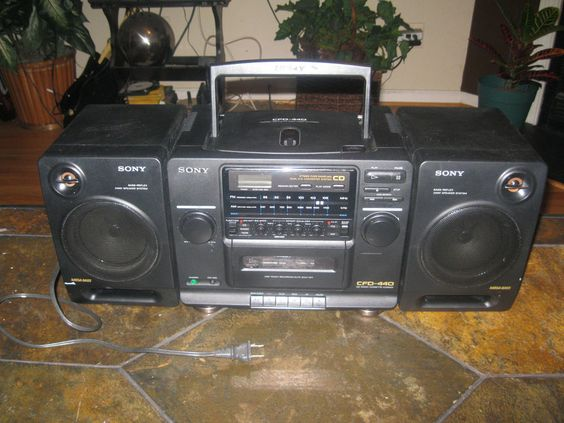Vintage boombox radios for sale