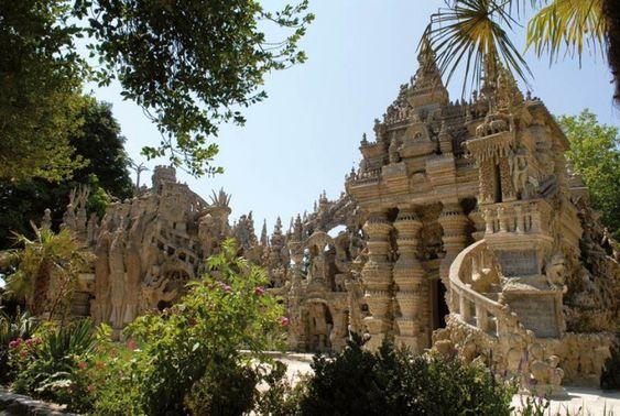 Traumtempel an der Rhône: der Palais Idéal du Facteur Cheval. #Frankreich #France #rhone #reise #reiseblogger