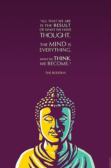 A Popular Quote By The Buddha With An Illustrated Portrait Of The Enlightened One Also Buy This Artw Buddha Quotes Inspirational Buddha Quote Buddhism Quote